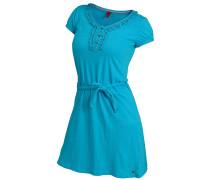 Kurzarmkleid Damen, blau
