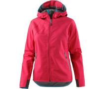 Ultimate Light Softshelljacke Damen, light carmine