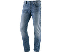 3301 Straight Fit Jeans Herren, light blue denim