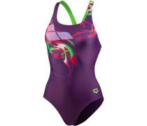 Pegasus Schwimmanzug Damen, plum/leaf