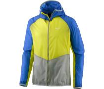 Pedroc 2 Superlight Windbreaker Herren, blau/gelb/grau