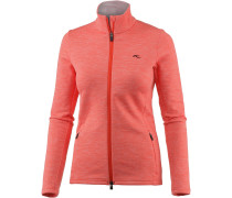 Calienta Fleecejacke Damen, spicy orange
