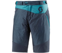 Bike Shorts Herren, blau/blau
