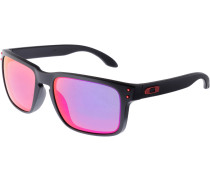 Holbrook Sonnenbrille, matte black/positive red iridium