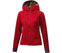 Ultimate Softshelljacke Damen, rot