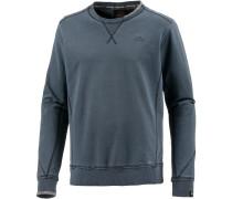 Sweatshirt Herren, dunkelblau washed