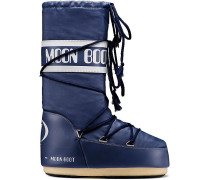 Moon Boot Nylon Winterschuhe, blau