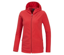 Buffalo Fleecejacke Damen, rot