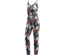 Summer Look Jumpsuit Damen, navy/allover