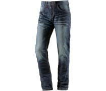 GerritTZ Straight Fit Jeans Herren, blau