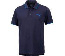 Sports Poloshirt Herren, blau