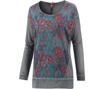 Langarmshirt Damen, dark grey