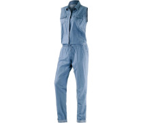 Wiping Jumpsuit Damen, blau
