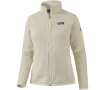 Better Sweater Strickfleece Damen, beige