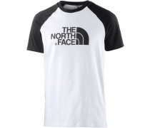 Raglan Easy T-Shirt Herren, mehrfarbig