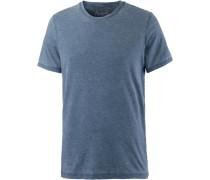 T-Shirt Herren, blau washed