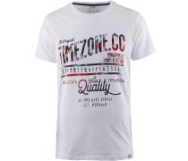 T-Shirt Herren, pure white