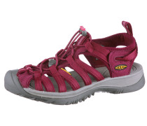Whisper Outdoorsandalen Damen, rot
