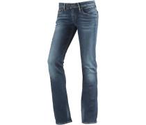 Vicky Straight Fit Jeans Damen, blau