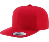Classic Snapback Cap, rot