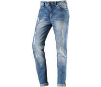 MajaTZ Boyfriend Jeans Damen, blau