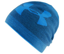 ColdGear Billboard Beanie Herren, MAKO BLUE / MIDNIGHT NAVY / MAKO BLUE