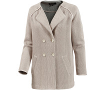 Strickmantel Damen, beige