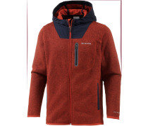 Altitude Aspect Strickfleece Herren, rot