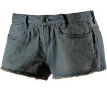 Skimmer Jeansshorts Damen, blau