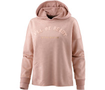 Hoodie Damen, cameo rose-il be ready