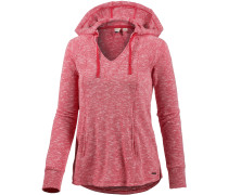 Wasted Time Hoodie Damen, rot