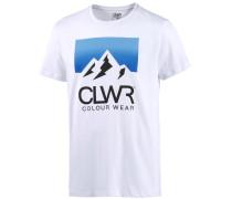 Dawn Printshirt Herren, weiß
