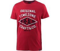 T-Shirt Herren, chilli red