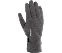 Fingerhandschuhe, grau
