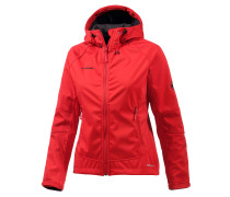 Ortler Advanced Softshelljacke Damen, rot