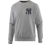 New York Yankees Sweatshirt Herren, grau