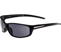 Sonnenbrille Herren, schwarz