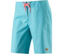 Sporty Boardshorts Damen, blau