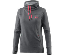 Featherweight Hoodie Damen, CARBON HEATHER/MARATHON RED/MARATHON RED
