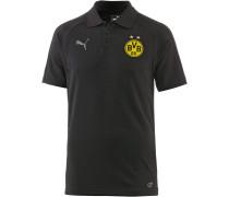 Borussia Dortmund Poloshirt Herren, Black