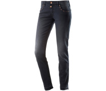 Aleena Skinny Fit Jeans Damen, washed black