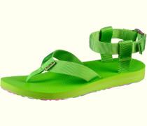 Original Sandal Marbled Zehensandalen Damen, grün
