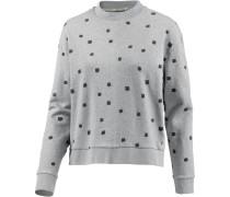 Sweatshirt Damen, gray melange