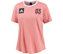 T-Shirt Damen, trace pink