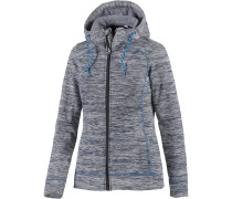 Fleecejacke Damen, blau