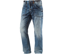 Claymore Straight Fit Jeans Herren, blau