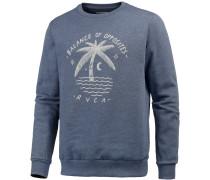 Palm Moon Sweatshirt Herren, blau