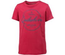 Printshirt Jungen, rot