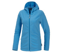 Buffalo Fleecejacke Damen, blau