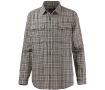 Crossley Funktionshemd Herren, siltstone checks